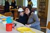 Preschool and Kindergarten Students: : Celebrating Passover at the synagogue with their familys