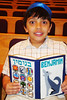 Siddur Party: : Third graders receive their siddurim and show off their personal siddur covers.