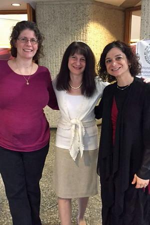 Sisterhood Rosh Chodesh Service led by Rabbi Shere and Lisa Sobel-Siegmann